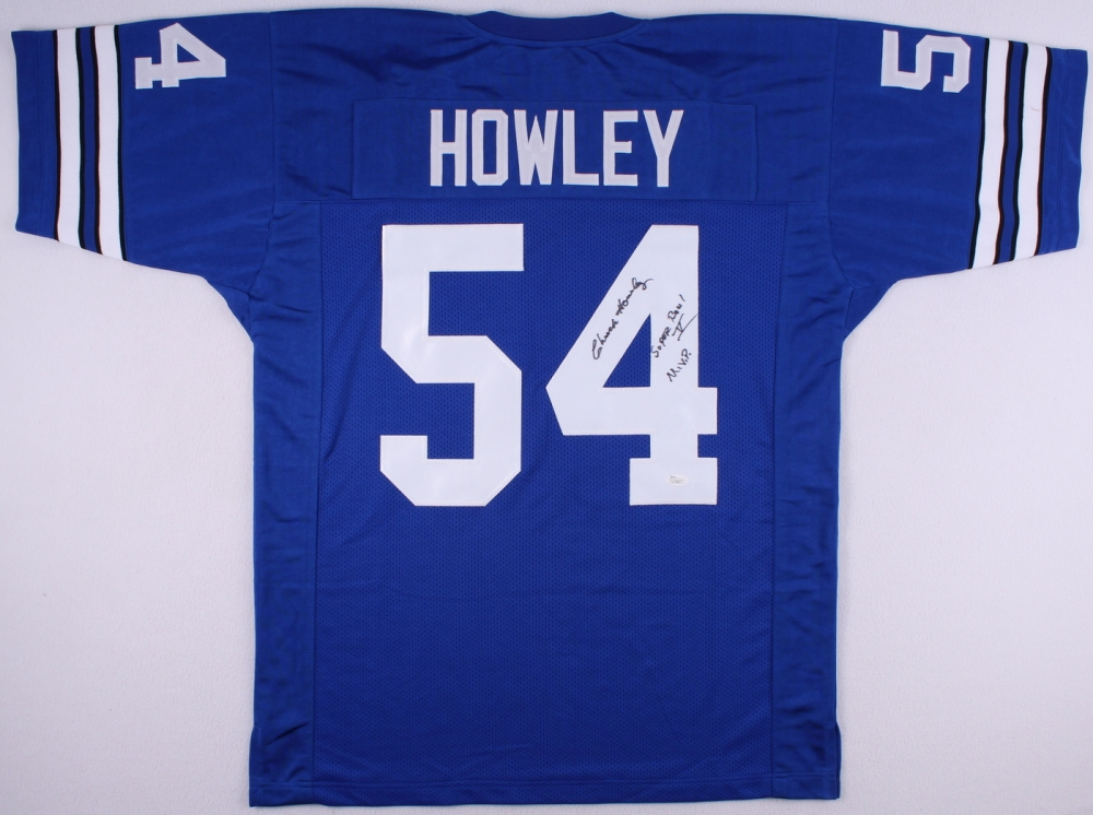 Chuck-Howley-Signed-Cowboys-Jersey-Inscr