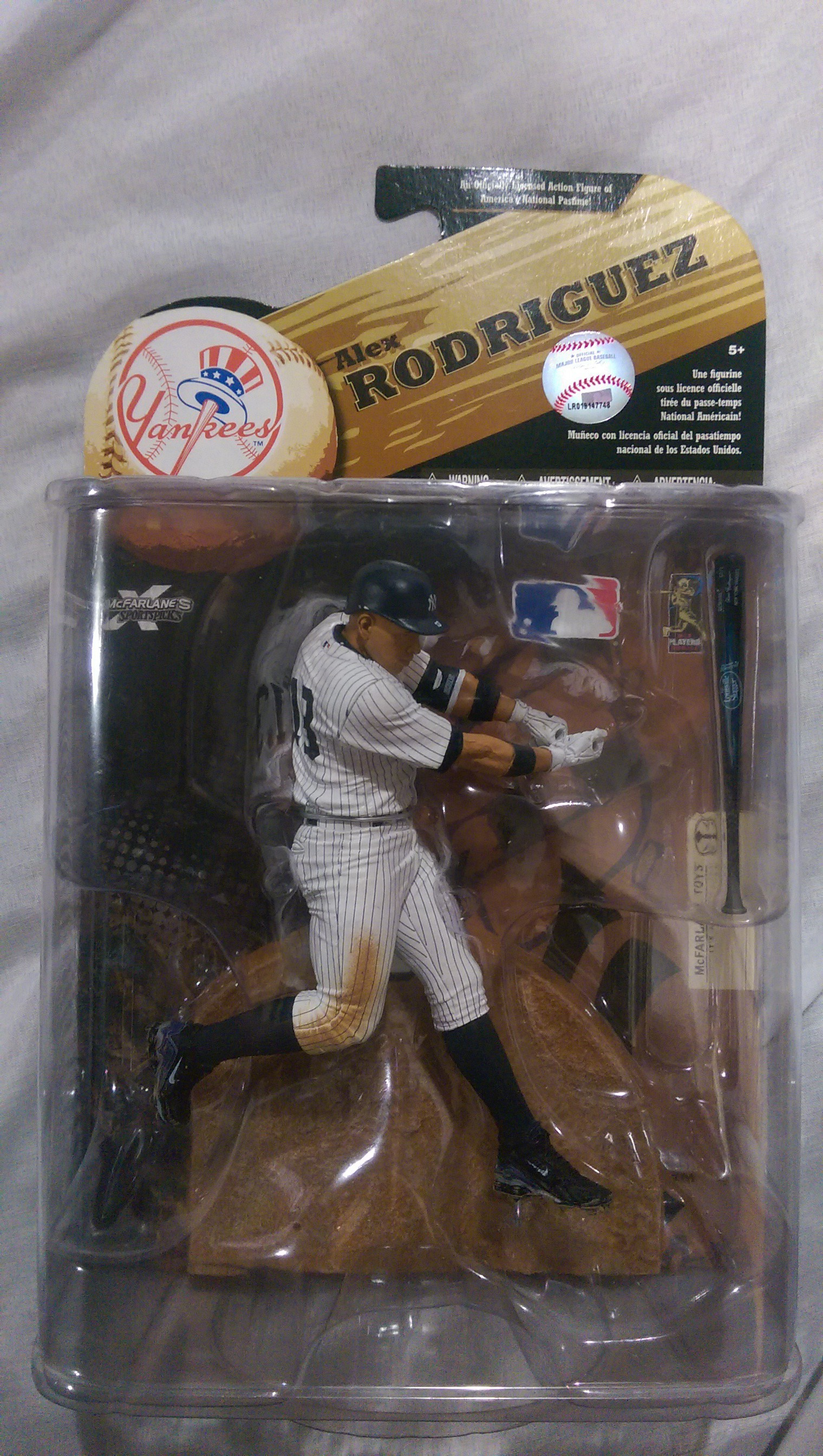 Alex Rodriguez New York Yankees Figure Nib 187 Budd S