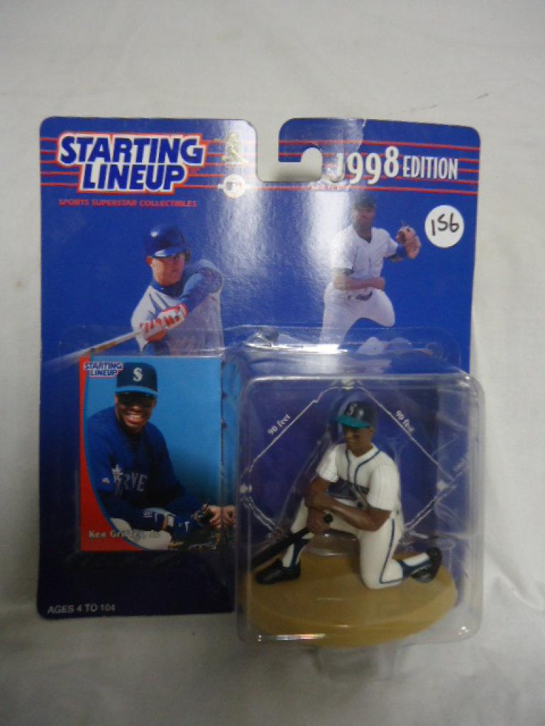 JR SEATTLE MARINERS 1998 KEN GRIFFEY STARTING LINEUP MLB