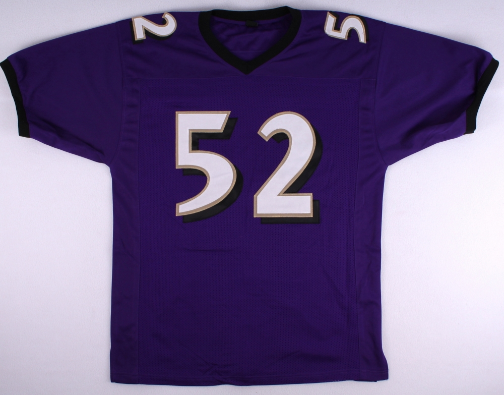 cheap for discount e2dad 2e16d Ray Lewis Baltimore Ravens On-Field Style Custom Jersey