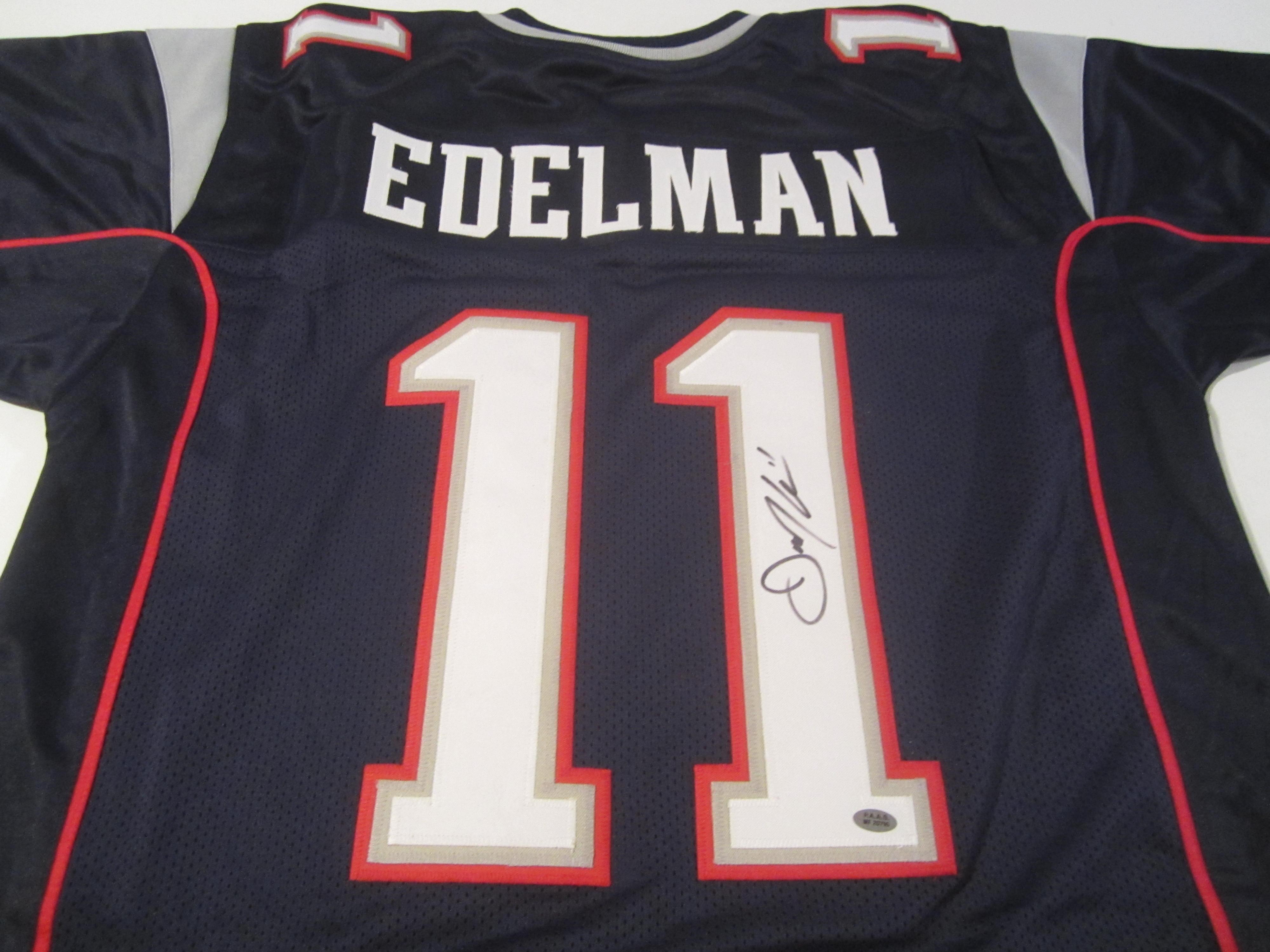 signed julian edelman jersey