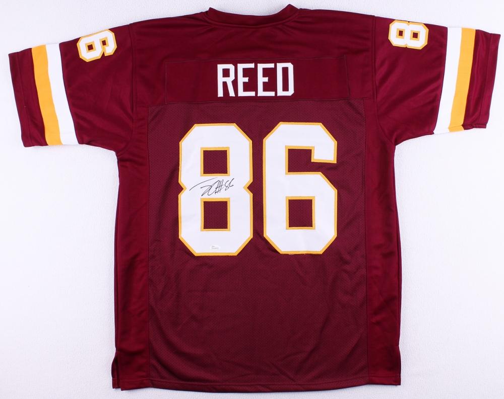 Jordan Reed Signed Washington Redskins Jersey