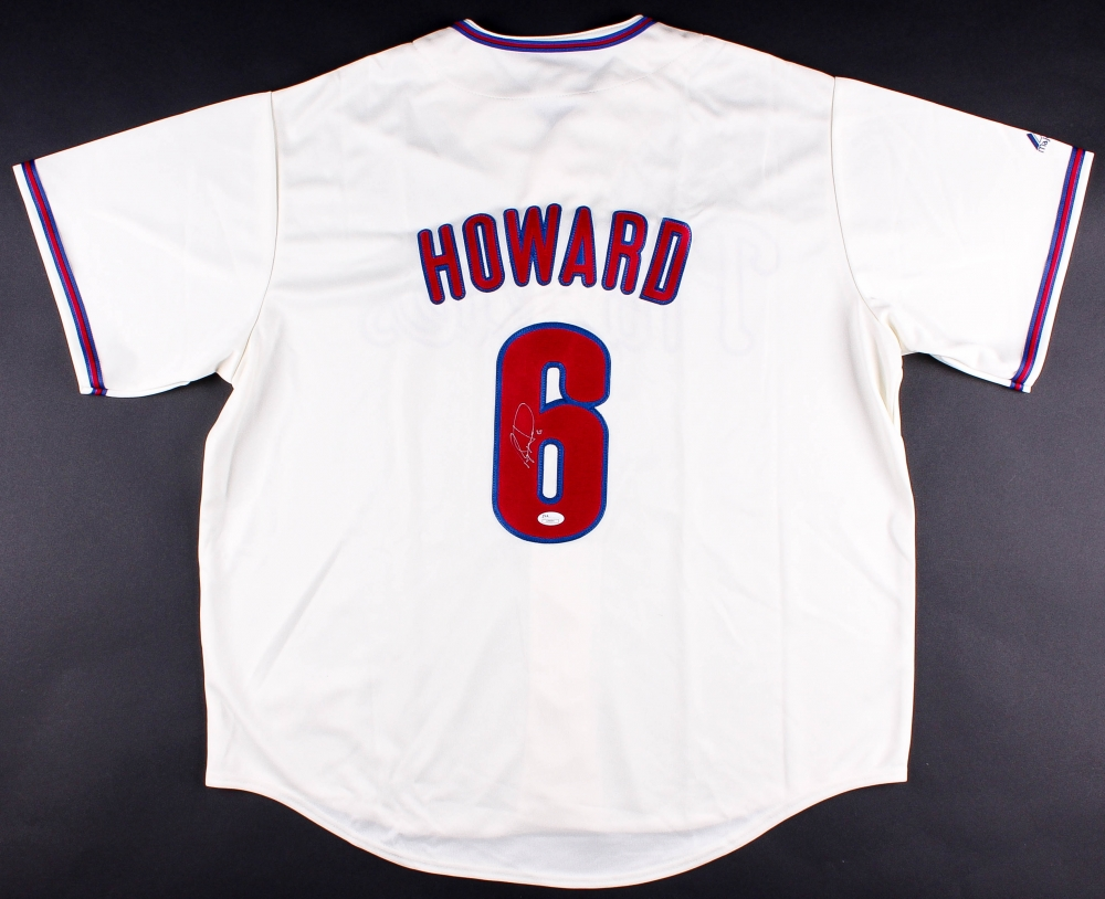 promo code c2cad a09e8 Ryan Howard Signed Philadelphia Phillies Jersey
