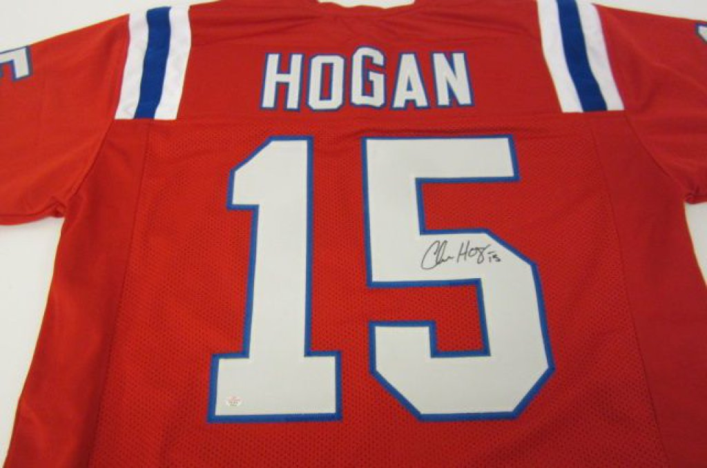 Chris Hogan New England Patriots signed Jersey » Budd's ...
