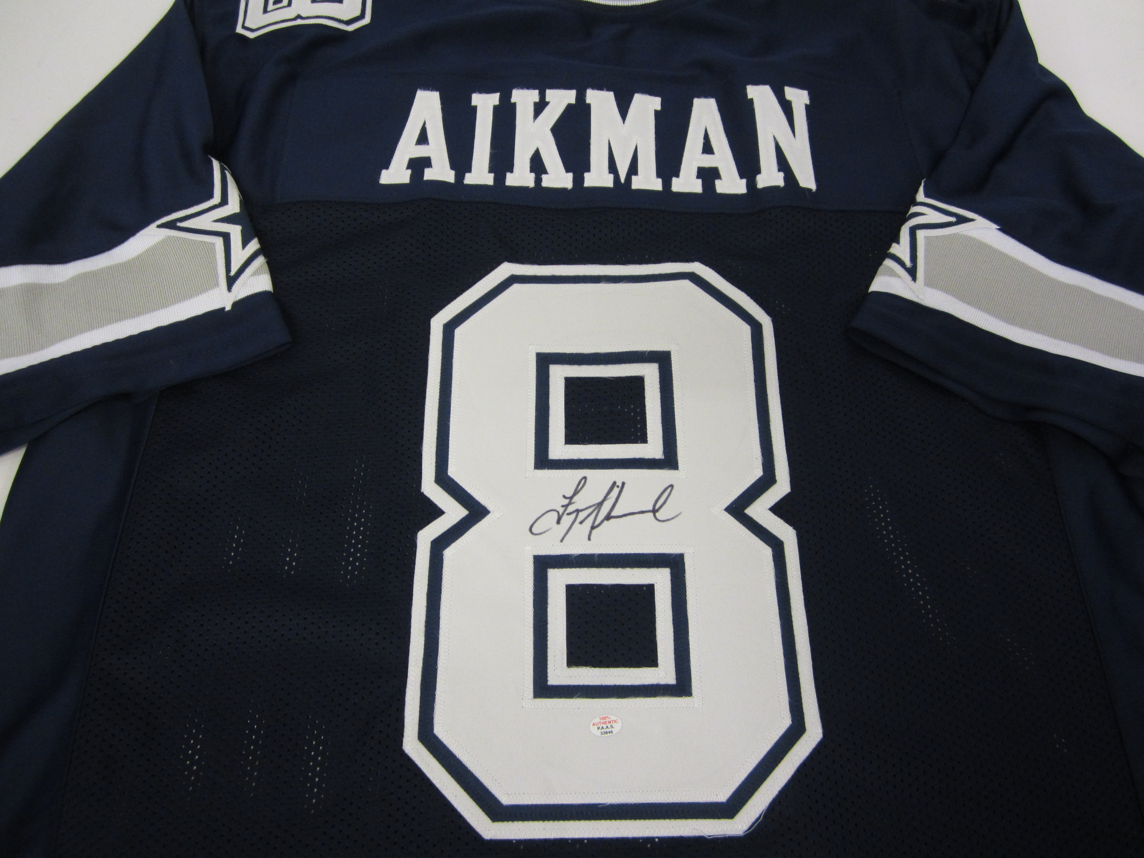 new arrivals 88080 d72b1 Troy Aikman Dallas Cowboys Signed Jersey