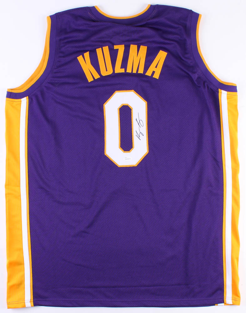 brand new cd352 37374 Kyle Kuzma Signed Los Angeles Lakers Jersey